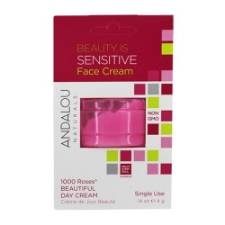 Andalou naturals beauty Is sensitive face cream - 0.14 oz, 6 pack