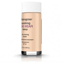 Neutrogena nourishing long wear liquid makeup, true beige - 2 ea