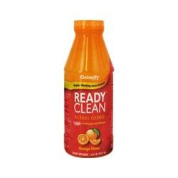 Detoxify ready clean herbal cleanse, orange - 16 oz