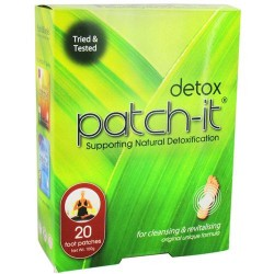 Nutriworks detox patch for natural detoxification - 20 ea