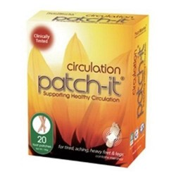 Nutriworks circulation patch-it - 20 ea