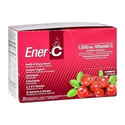 Ener c 1000mg Vitamin C cranberry suplements - 30 ea