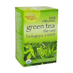 Uncle Lees Tea Imperial Organic, Green Tea - 18 Tea Bags