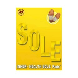 Inner health sole pads - 10 cotton gold patch