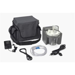 Drive medical 7305 Series Homecare Suction Unit with External filter, Battery and Carrying Ca- 1 ea