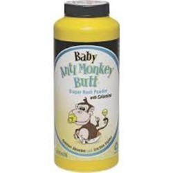 Anti monkey butt, baby anti friction powder with calamine - 6 oz
