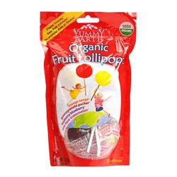 Yummyearth organic lollipops, assorted flavors - 3 oz