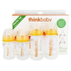 Thinkbaby complete bpa free starter set, new borns to 12 months - 1 set