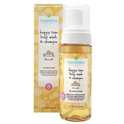 Mambino organics happy time baby kids wash and shampoo - 5.5 oz