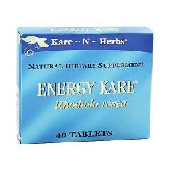 Kare-N-Herbs Energy And Mental Alertness Tablets - 40 ea