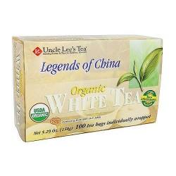 Uncle Lees Tea Legends of China Organic White Tea - 100 Bags