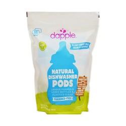 Dapple naturally clean auto dishwasher pods, fragrance free - 25 ea