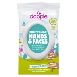 Dapple pure and clean everything on surface wipes - 45 ea
