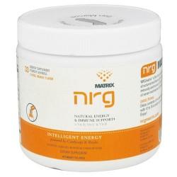 Nrg matrix natural energy and immune support powder drink, citrus-orange - 7 oz