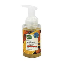 CleanWell all-natural antibacterial foaming hand wash, Orange vanilla - 9.5 oz