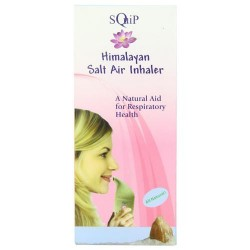 Squip himalayan salt inhaler, all natural - 1 ea