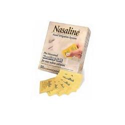 Squip nasaline pre measured salt - 50 ea