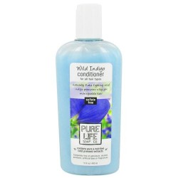 Pure life conditioner wild indigo, for all hair types - 15 oz