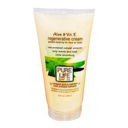 Pure life aloe and vitamin e regenerative cream - 6.8 oz