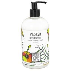 Pure life conditioner papaya, tropical softening and repair - 15 oz