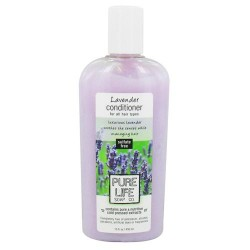 Pure life conditioner for all hair types, lavender - 15 oz