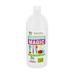 Better Life Automatic Magic Natural Dishwasher Gel, Fragrance Free - 30 Oz