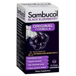 Sambucol black elderberry immune support chewable tablets, 30 ea