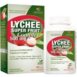 Genceutic naturals lychee superfruit - 60 ea