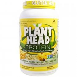 Genceutic naturals, plant head protein, banana - 1.8 lb