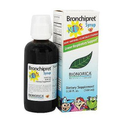 Bronchipret Kids Lower Respitory Support Syrup - 3.38 oz