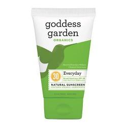 Goddess garden sunny body natural sunscreen spf 30 - 3.4 oz