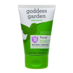 Goddess garden sunny face natural sunscreen spf 30 - 3.4 oz