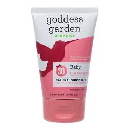 Goddess garden sunny baby natural sunscreen spf 30 - 3.4 oz