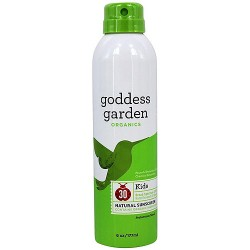 Goddess Garden Sunny Kids Natural Sunscreen SPF 30 Continuous Spray - 6 oz