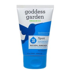 Goddess garden sport natural sunscreen spf 30 - 3.4 oz