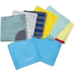 E  Cloth Home Cleaning Set Cloths - 8 ea