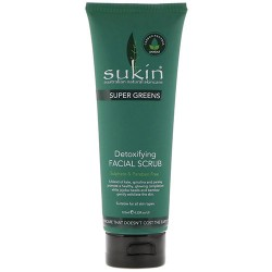 Sukin super greens detoxifying facial scrub - 1 ea