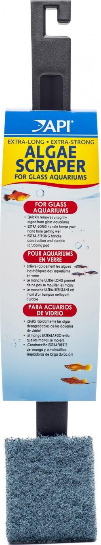 Mars Fishcare North Amer algae scraper for glass aquariums - 18 inch, 12 ea