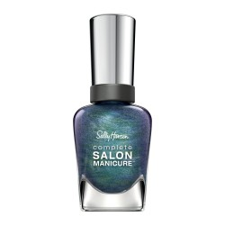 Sally hansen complete salon manicure nail color, black and blue - 2 ea