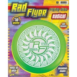 Rad flter  flying disc radical  70 grams 9.5X12, - 6 ea