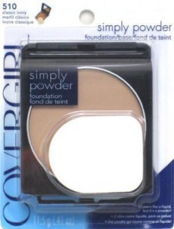 Covergirl simply powder foundation 510, classic ivory - 2 ea
