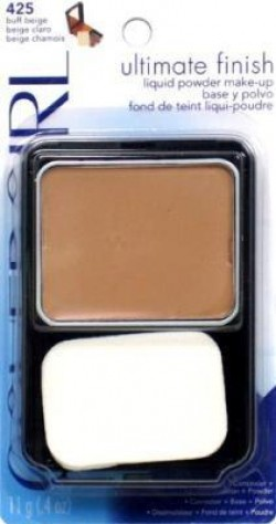Covergirl ultimate finish liquid powder makeup, buff beige #425 - 2 ea