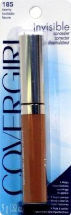 Cover girl invisible cream concealer, tawny 185  - 2 ea