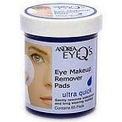 Andrea eyeqs ultra quick eye makeup remover pads - 3 ea