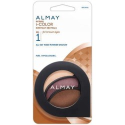 Almay intense i-color everyday neutrals for browns - 2 ea