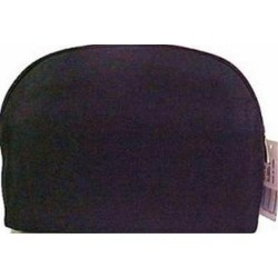 Sicara black large oval cosmetic bag - 2 ea