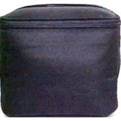 Sicara black tall train case cosmetic bag - 1 ea