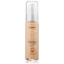 Almay truly lasting liquid color makeup 240, beige - 2 ea