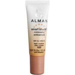 Almay smart shade concealer makeup with spf 15, light/medium - 2 ea