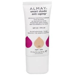 Almay smart shade anti age skintone matching makeup, light - 2 ea